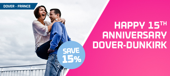 Dover to Dunkirk 15th Anniversary – 15% Off!