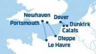 DFDS offers 4 ferry routes from the UK to France, sail from Newhaven, Portsmouth and Dover to Calais, Dunkirk, Dieppe and Le Havre.
