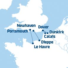 DFDS Ferries to France