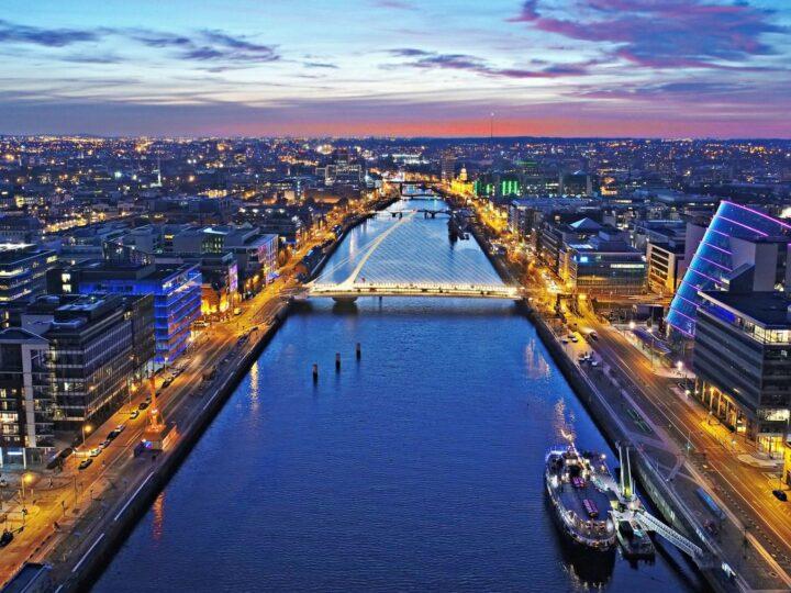 Ferry from Holyhead to Dublin in Ireland