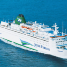 Sail overnight with Irish Ferries from Rosslare in Southern Ireland to Roscoff in Northern France. The service only operates in the summer months from May to September and sails up to three times per week.