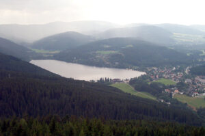 Lake Titisee in the Black Forrest