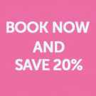 Book by 30th April 2015 for travel until 17th December and P&O will give you 20% off their standard prices, which will save up to £70 on the price of your sailing. To take advantage of this discount, just use discount code T20GB.